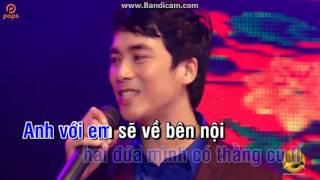 Mùa Xuân Xôn Xao karaoke hát với Hoàng Định (Beat mới)