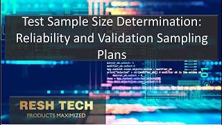 Test Sample Size Determination