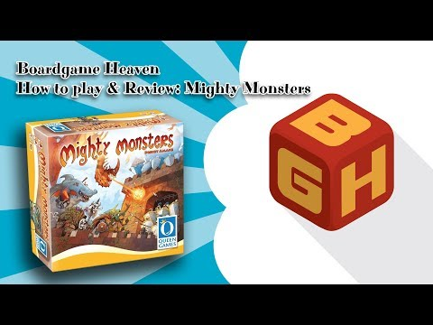 Boardgame Heaven How To Play & Review: Mighty Monsters