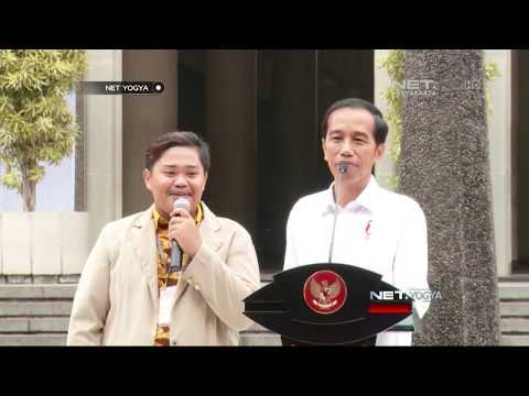 NET YOGYA - Berhasil Jawab Soal Dari Presiden Jokowi, Mahasiswa UGM Ini Minta Hadiah Sepeda