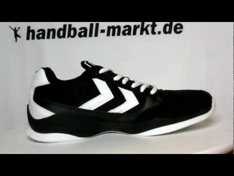 Hummel Authentic Handballschuhe - schwarz/weiss