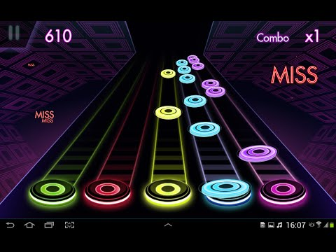 Guitar herois 2. Музыкальная игра на Андроид.
