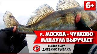 Рыбалка в декабре 2020 москва река