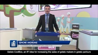Simone Andreani about Gelato CoolBox All videos