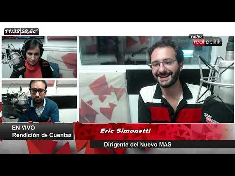 """Eric Simonetti: """"El gobierno de Macri reprimió y Alberto Fernández no repudió el hecho"""""""