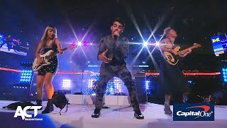 DNCE at Capital One Orange Bowl Halftime Show 2016