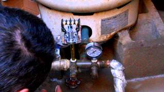Replacing a well pressure switch & re-pressurizing the tank to avoid short cycling