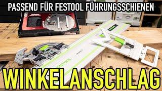 Tolle WINKELANSCHLÄGE für FÜHRUNGSSCHIENEN - Mikes Toolshop