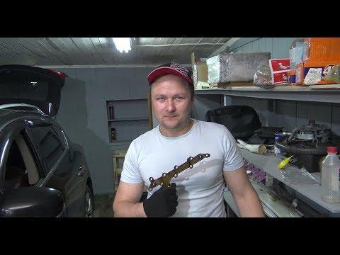 Фото к видео: Замена бумажных прокладок Инфинити ех35 VQ35HR