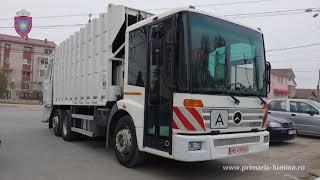 Masina de gunoi pentru Serviciul de Salubrizare
