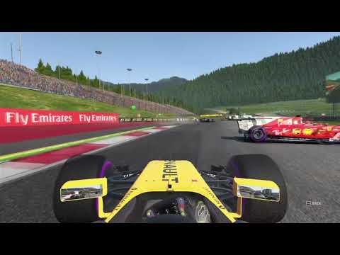 F1 2017 - Setup glitch