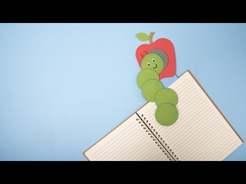 Create This Super Cute Caterpillar Bookmark - Ellison Education