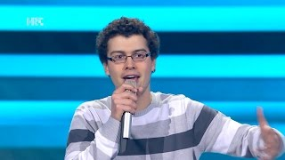 "Rino Petrović: ""Un' Emozione Per Sempre""   The Voice Of Croatia   Season2   Blind Auditions2"