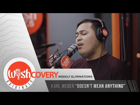 """Karl Weber performs """"Doesn't Mean Anything"""" LIVE on Wish 107.5 Bus"""