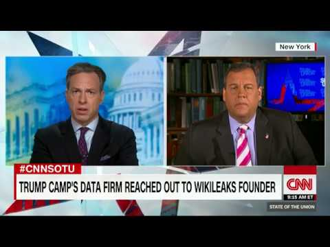 Chris Christie: Russia indictment leak could be criminal (Full CNN interview)