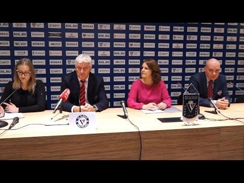 Пресс-конференция - «Cлован» 4:3 (Б) «Автомобилист» (19.10.15)