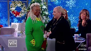 Whoopi Goldberg Spreads Holiday Cheer! | The View