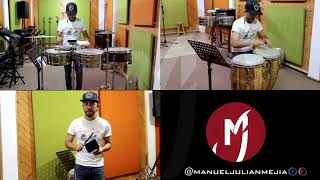 Parecen Viernes   Marc Anthony (percussion Cover)