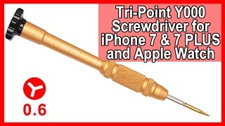 Tri-point Y000 Screwdriver for iPhone 7 7 Plus and Apple Watch