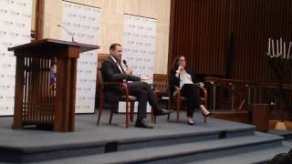 Tom Perriello Q&A at Temple Rodef Shalom (5/21/17)