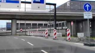 preview picture of video 'BerlinTour 5 - Anfahrt/Journey Flughafen Berlin Brandenburg International von Berlin aus, 공항 베를린'