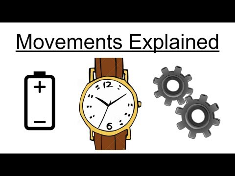 Watch Movements Explained! Quartz v Mechanical