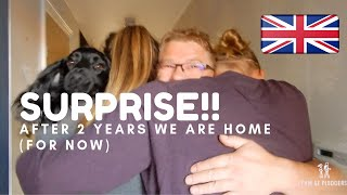 Surprising Family After 2 Years Away!