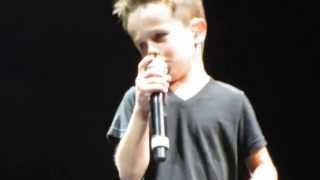 Griffin McIntyre sings Tonight NKOTB NYC 6-22-15