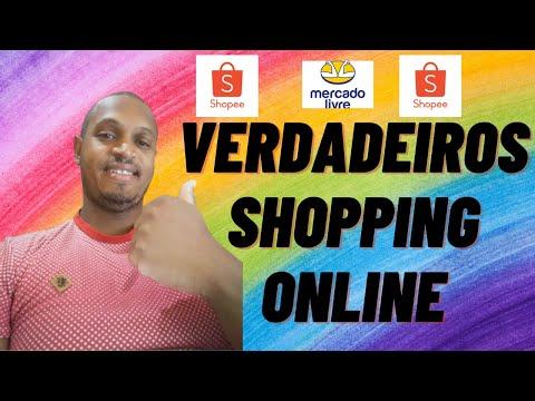 shopping online, ou shopee brasil ou mercado livre