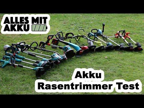 Akku Rasentrimmer Test | Die besten Geräte:Makita, Stihl, Bosch, Black + Decker, Ryobi, Einhell