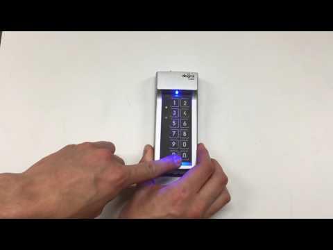 Programmation du code d'ouverture du clavier extérieur sans fil DIAG46MCX