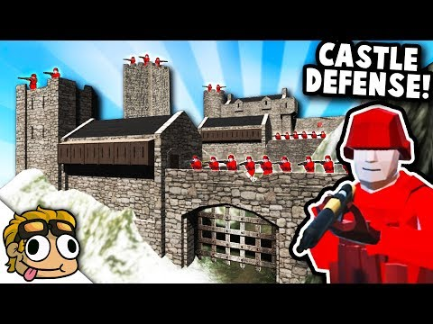 CASTLE FORTRESS DEFENSE in WW1! | Ravenfield Best Mods Gameplay