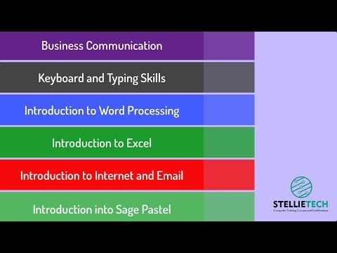 Office Administration Course - StellieTech - YouTube