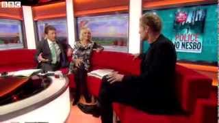 Introducing Harry Hole on BBC News