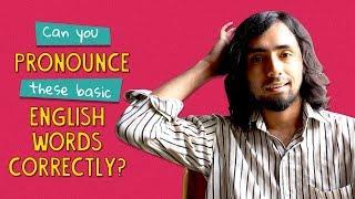 Can You Pronounce These Basic English Words Correctly? | Ft. Rohit & Kanishk |  Ok Tested