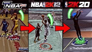 GETTING A EXCELLENT RELEASE ON EVERY NBA 2K GAME IN ONE VIDEO