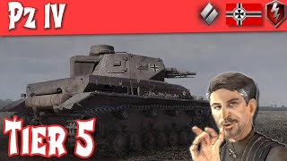 WOT Blitz - Pz4 Full Tank Review German Medium Tier 5 (pre Update 5.5) ||WOT Blitz||