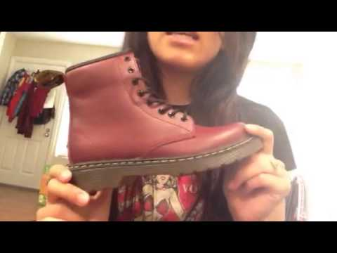 Dr Martens Delaney Cherry Red Rouge Review