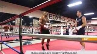 Американец полез драться с Владимиром Кличко на тренировке