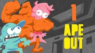 SuperMega Plays APE OUT - EP 1: Grand Theft Ape