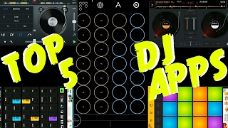 Top 5 DJ Apps On Android/ios