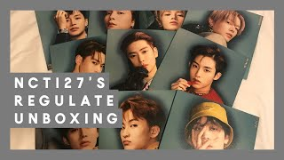 Gambar cover Unboxing ☆ NCT 127 엔시티 127 Regulate Albums ☆ 13 copies