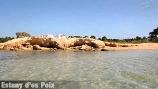 preview picture of video 'Formentera Playa - Estany d'es Peix'