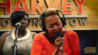 "Chrisette Michele Performs ""Charades"" Live On The Steve Harvey Morning Show"