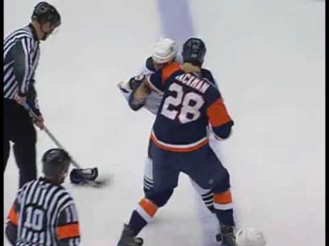 Tim Jackman vs. Vincent Lecavalier