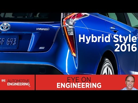 SAE Eye on Engineering: Hybrid Style 2016