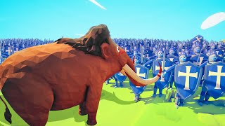 Can A MAMMOTH Defeat 5,000 PEASANTS?! (Totally Accurate Battle Simulator)