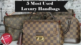 5 Most Used Luxury Handbags   Louis Vutton   Red Ruby Creates