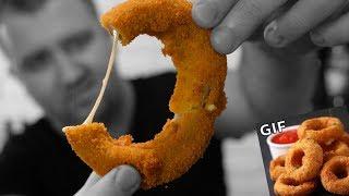 Проверка рецепта: Луковые кольца с сыром (Гифка)