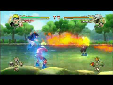 Naruto: Ultimate Ninja Storm Gameplay, Demo In July